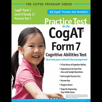 CogAT Test Prep Materials for Grade 2 Multilevel