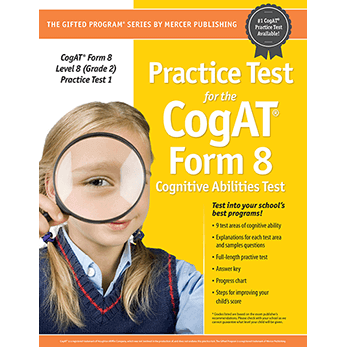 Cogat Form 8 Level 8 Grade 2 Practice Test 1