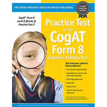 Cogat Form 8 Level 8 Grade 2 Practice Test 2