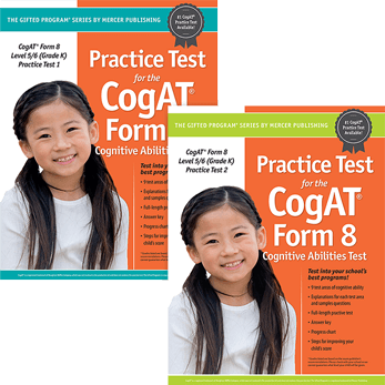 Cogat Form 8 Level 5/6 Grade K Practice Tests 1 and 2
