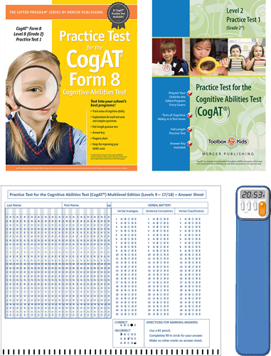 CogAT Grade 2 Primary Essentials Study Package