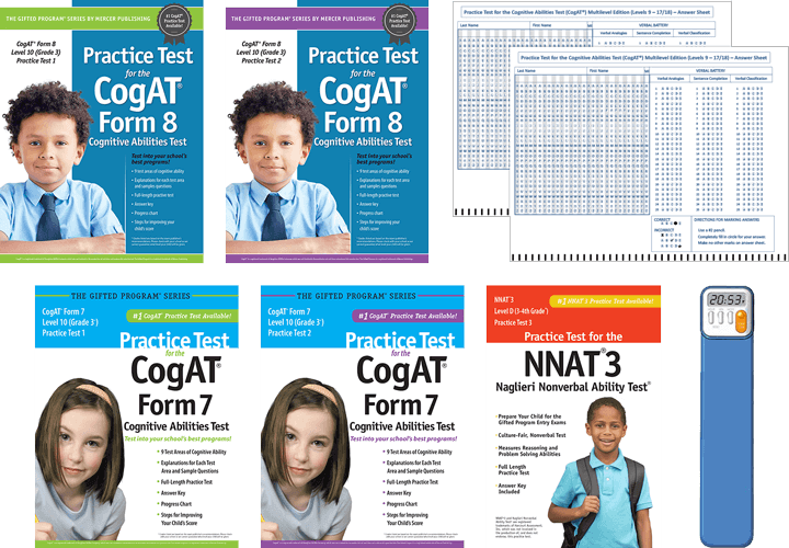 Cogat Test Prep Materials For Grade 3