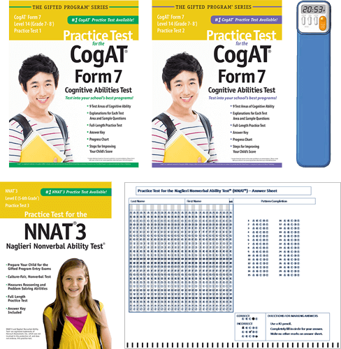 Cogat Test Prep Materials For Grades 7 8