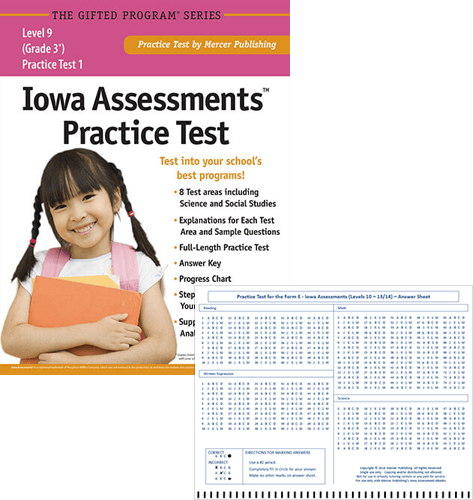 Iowa Assessments Grade 3 Study Package