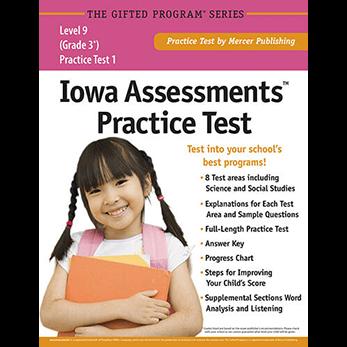 Iowa Assessments Test Prep Materials for Grade 3