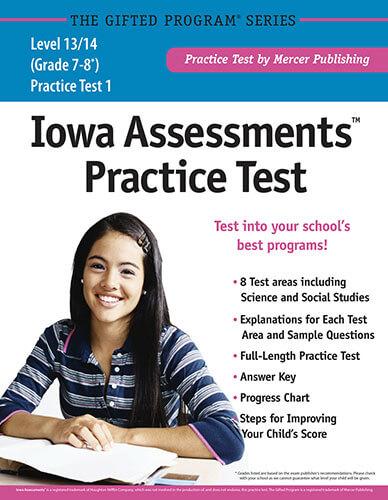 Iowa Assessments Full-Length Practice Test for Grades 7-8