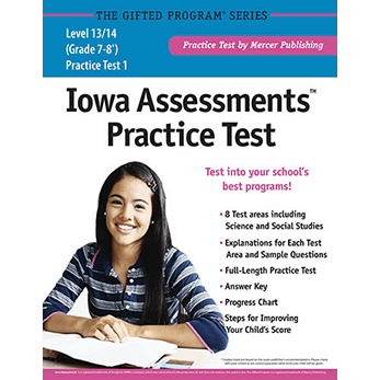 Iowa Assessments Grades 7-8 Levels 13-14 Practice Test