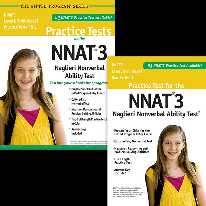 NNAT3 Test Prep Materials for Grades 5-6