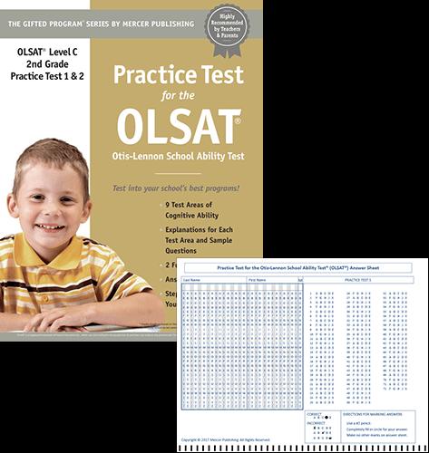Olsat Test Prep Materials For Grade 2