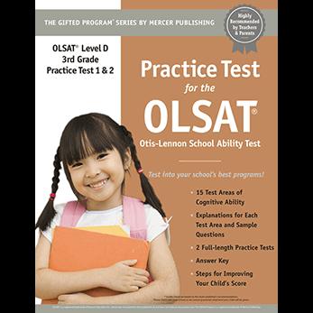 Olsat Test Prep Materials For Grade 3