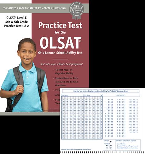 Olsat Test Prep Materials For Grades 4 5
